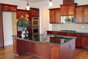 A lot is hinging on your kitchen cabinetry