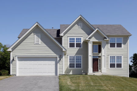 Vinyl siding and fiber cement siding